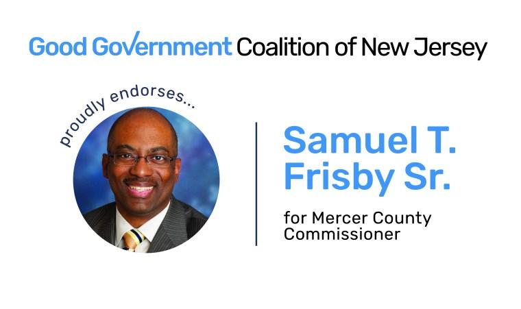 Samuel T. Frisby Sr. for Mercer County Commissioner
