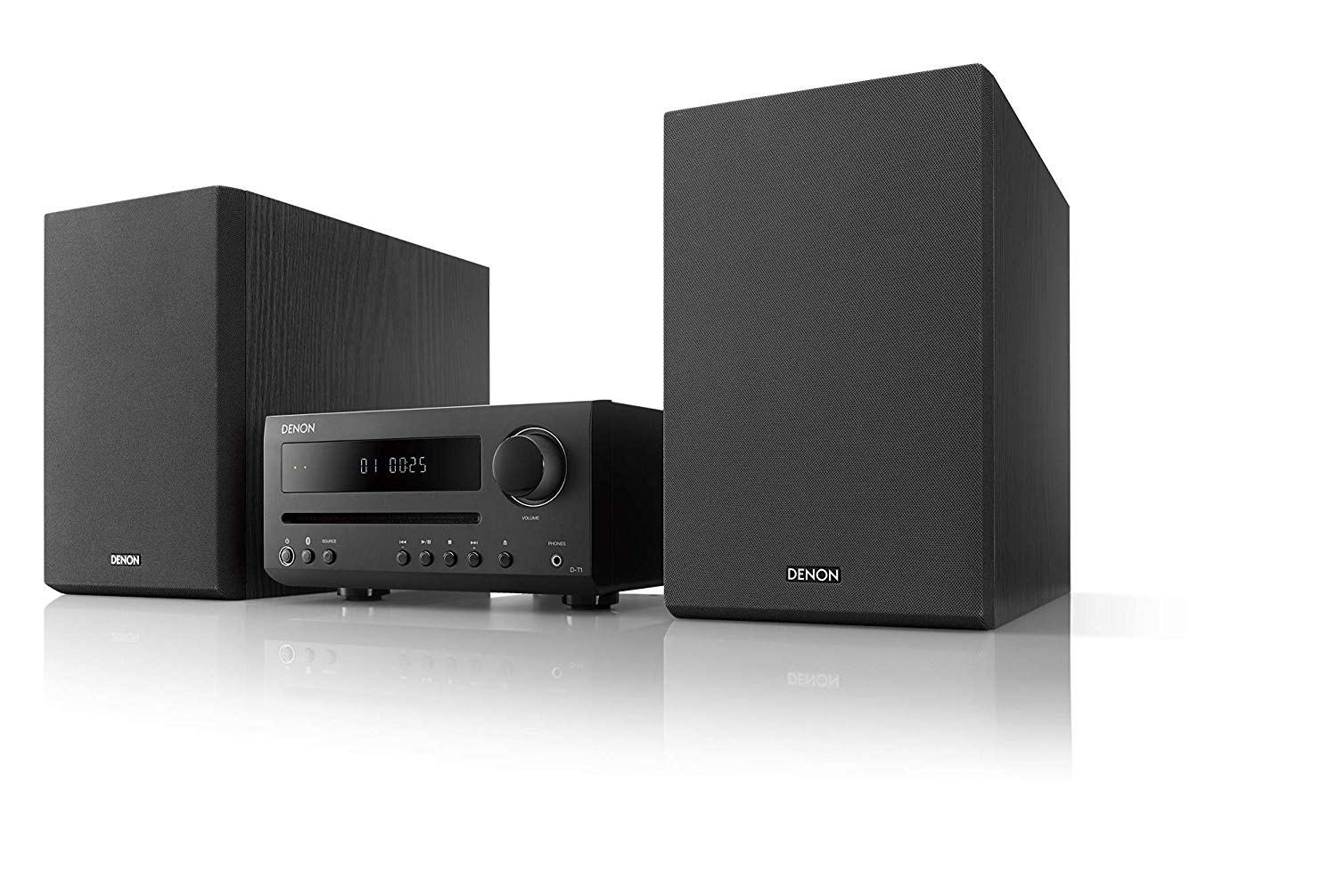 Denon DT1 Hi-Fi Mini System with CD and Bluetooth