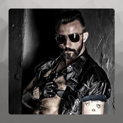 Maciek, Mister Leather Poland 2016