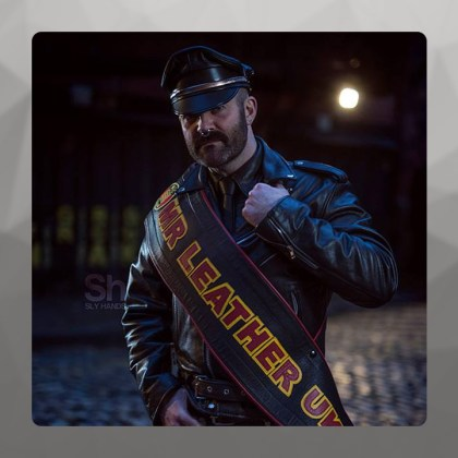 Joe, Mister Leather UK 2016