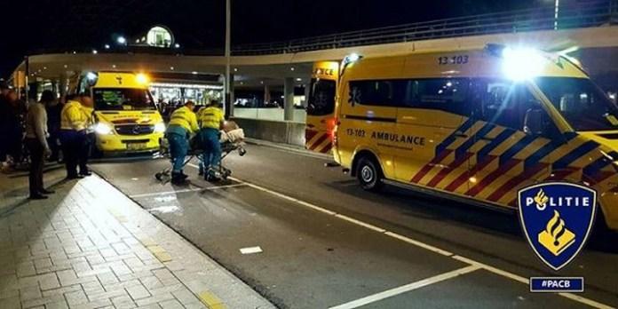 Polizeieinsatz in Amsterdam