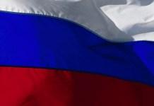Russische Flagge