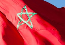 Flagge von Marokko
