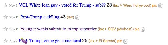 Trump-Fans gesucht