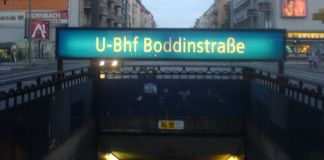 U-Bahn-Station Boddinstraße