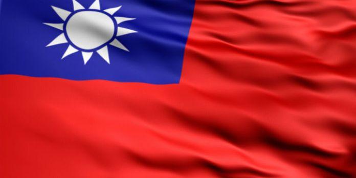 Flagge von Taiwan