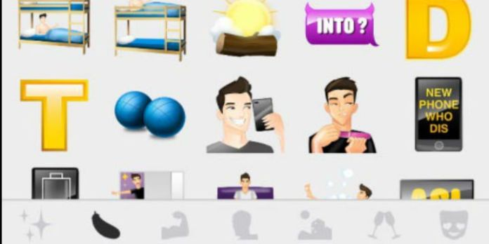 Grindr Emojis: T