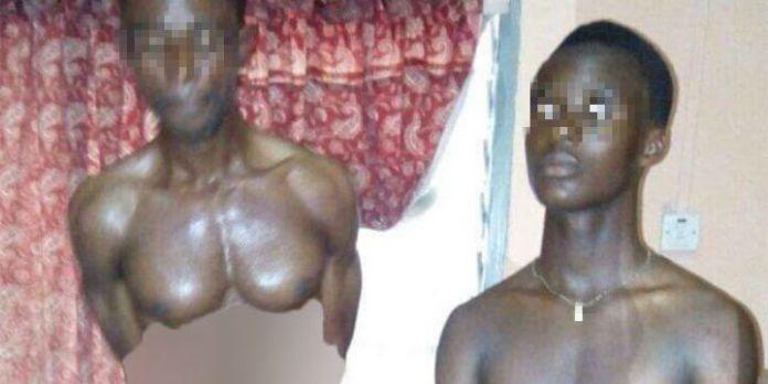 Männer aus Ghana