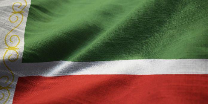 Flagge von Tschetschenien