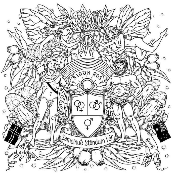 Sigur Rós: T-Shirt für Ehe-Öffnung
