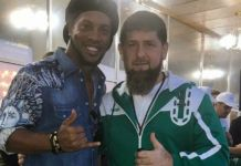 Ronaldinho und Ramsan Kaydrow