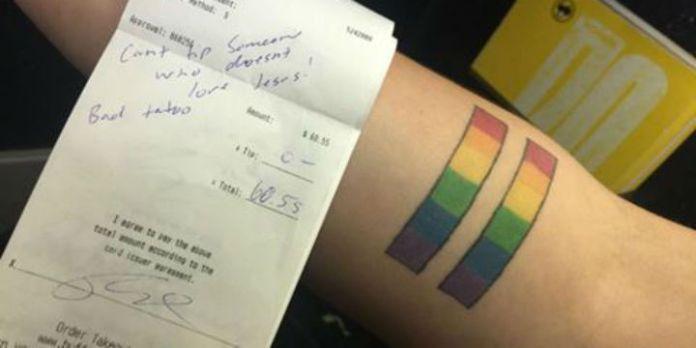Rechnung und Tattoo