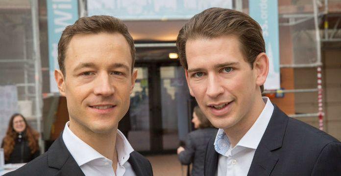 Gernot Blümel und Sebastian Kurz