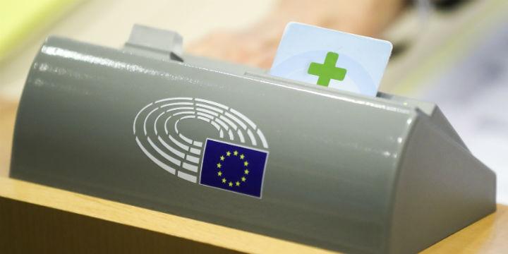 Sujetbild: Abstimmung im EP