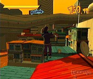 Jet Set Radio dreamcast screenshot