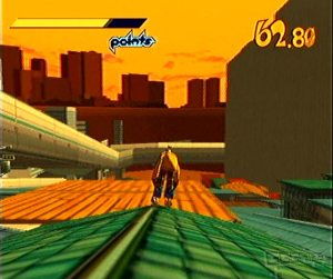 Jet Set Radio dreamcast screenshot
