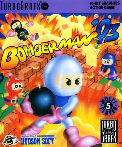 Bomberman '93 Turbografx 16 box art