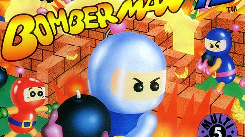 Bomberman '93 Turbografx 16 box art