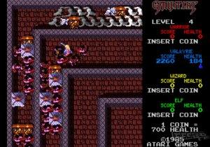 Gauntlet arcade screenshot