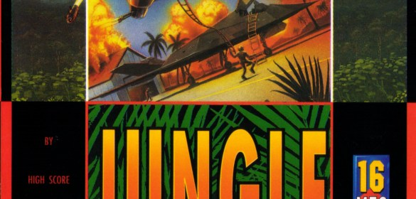 Jungle Strike mega drive box art