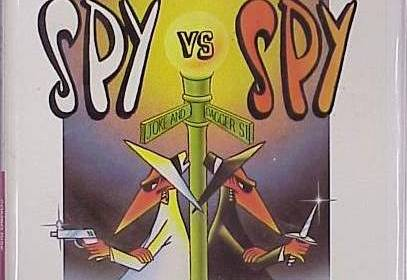 Spy vs. Spy c64 box art