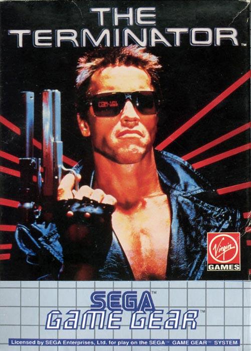 The Terminator game gear box art