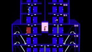 Elevator Action NES screenshot