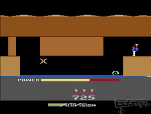 H.E.R.O. atari 2600 screenshot