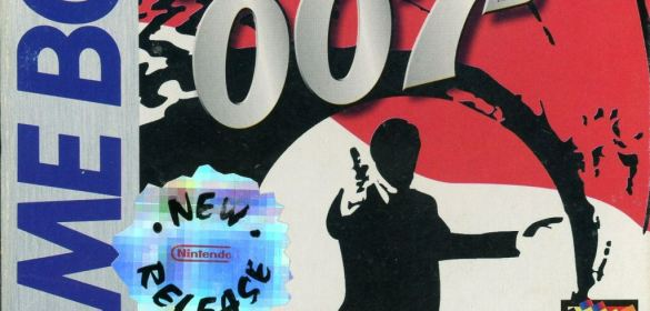 James Bond 007 game boy box art