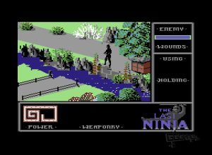 The Last Ninja c64 screenshot