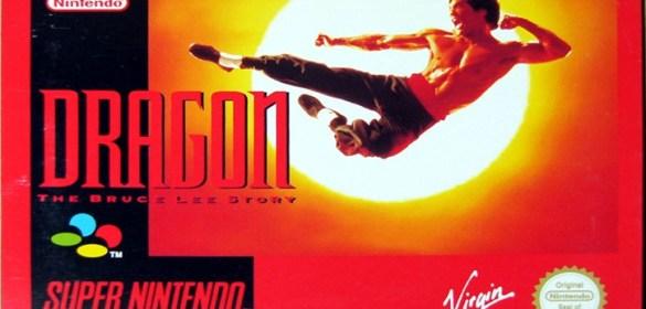 Dragon: The Bruce Lee Story SNES box art