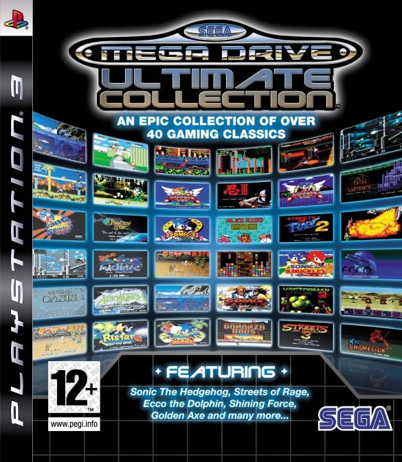Sega Mega Drive Ultimate Collection ps3 box art