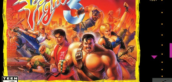 Final Fight 3 snes box art