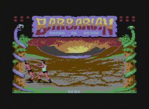 Barbarian: The Ultimate Warrior c64 screenshot