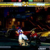 Garou: Mark of the Wolves arcade screenshot