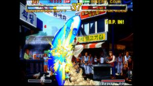 Garou: Mark of the Wolves arcade screenshot