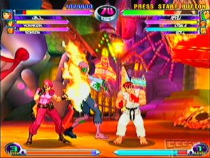 Marvel vs. Capcom 2: New Age of Heroes dreamcast screenshot