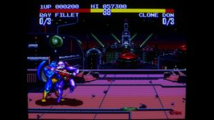 Teenage Mutant Ninja Turtles – Tournament Fighters MEGA DRIVE screenshot