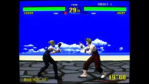 Virtua Fighter screenshot arcade