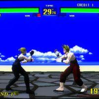 Virtua Fighter screenshot arcade