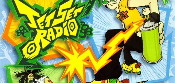Jet Set Radio front cover