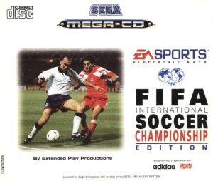 FIFA International Soccer Championship Edition cover