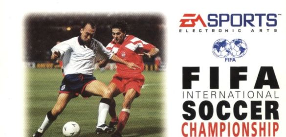 FIFA International Soccer Championship Edition cover