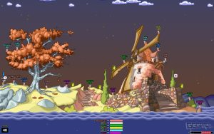 Worms Armageddon PC screenshot