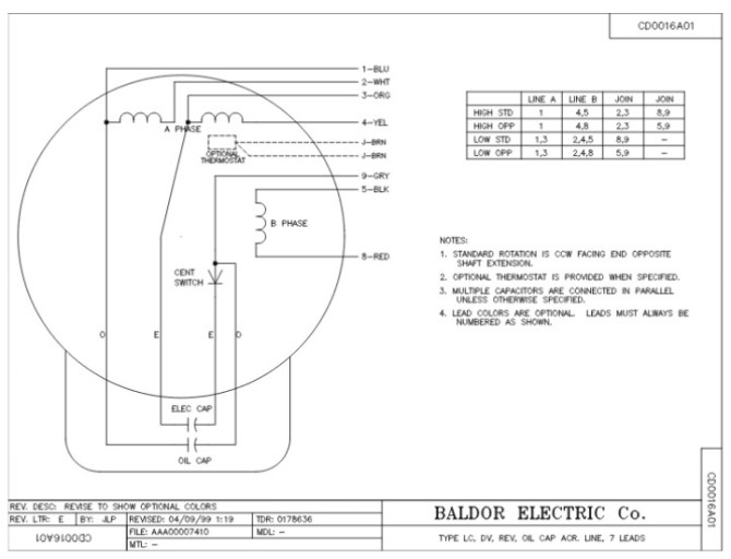 2 hp baldor motor wiring diagram schematic 1998 ford