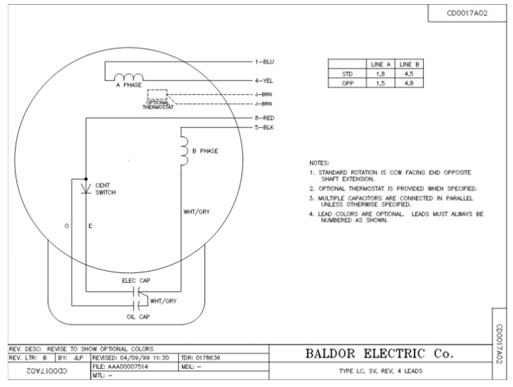 l1410t baldor single phase open foot mounted 5hp 1725rpm 184t frame upc 781568101650 3 baldor 3 hp motor wiring diagram tags this is wiring diagram baldor motors wiring diagram 3 phase at reclaimingppi.co