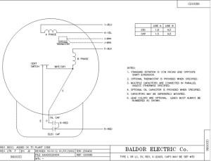 Baldor 5 Hp Pressor Motor  impremedia
