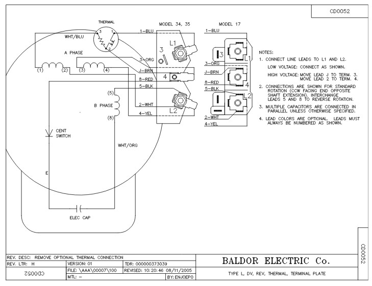 baldor single phase 230v motor wiring diagram freightliner chassis file eg41944