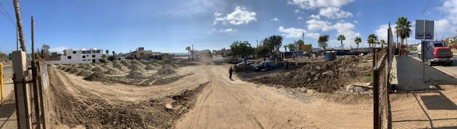 Development of the new Calimax supermarket started last month and is expected to be finished in January 2019