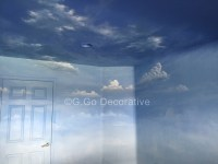 Sky Murals and Cloud Mural Painting - Denver : G. Go ...